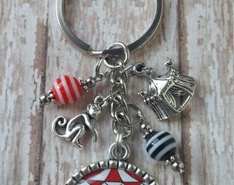 Not My Circus Not My Monkeys Key Chain - See Pictures - Flat Rate Shipping in US! Great Gift Idea or Treat Yourself!