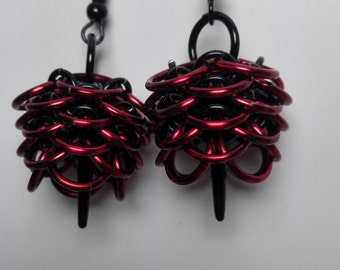 Earrings Pine Cone