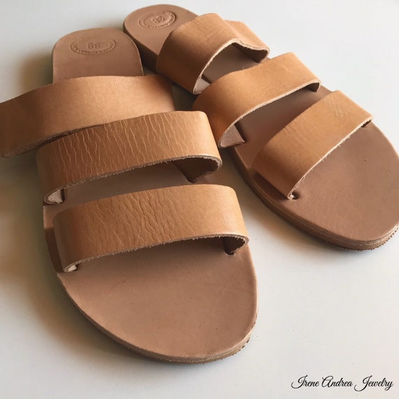 Women's Sandals Ancient Sandals Made Leather in Sandals Strappy Greece Roman Sandals Leather Sandals Sandals Sandals Greek Greek fvAxrv