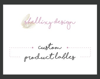 Custom Product labels | label design