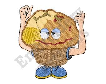 Stud Muffin - Machine Embroidery Design