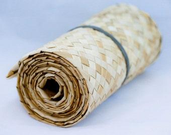 Lauhala 8 inch belting roll 3 yards long