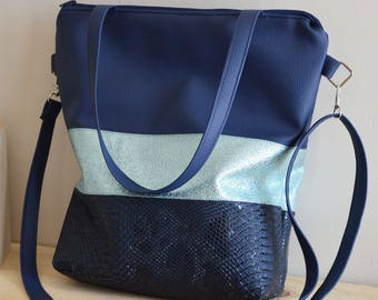 Blue Tote * Tricie *.