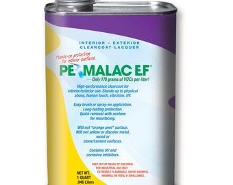 "Permalac EF (""Environmentally-Friendly"") Formula Clearcoat"