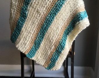 knit cat blanket / knit pet blanket / knit dog blanket / cat blanket / pet blanket / gift for cat / gift for dog / pet gift / boho pets /