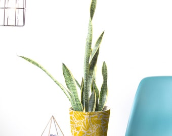 Fabric Buckets - Tropical Gold (more sizes)
