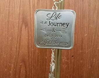 Car charm- Life is a Journey and only you hold the map