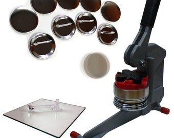 2.25 Inch Button Maker Machine - Economy Starter Kit