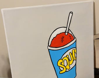 Slushie pop art painting