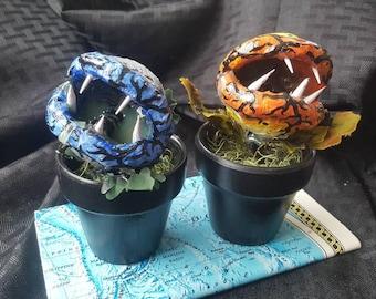 Sun moon plants - carnivorous plant - little shop of horrors - monster plant - solar plant - lunar plant - horror plant - eclipse monsters