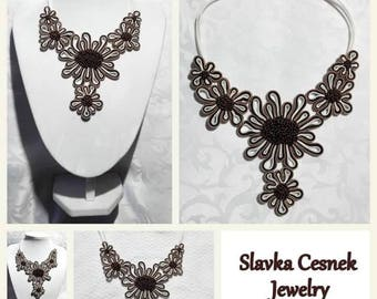 Necklace - Chocolate