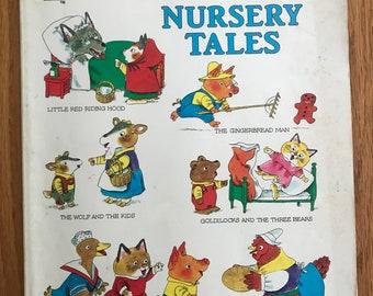 Richard Scarry's Nursery Tales (Golden Books paperback, 1997)