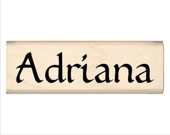 Adriana - Name Rubber Stamp for Kids