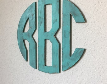 Wooden monogram letters, monogram wall hanging, wooden monogram, monogram gift, wedding sign, wedding gift, housewarming gift.