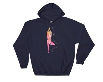 Yoga hoodie | yoga gifts | yoga sweatshirt | yogi Hooded Sweatshirt