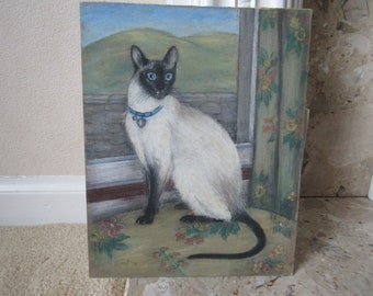 Original Pastel on Board from 1979