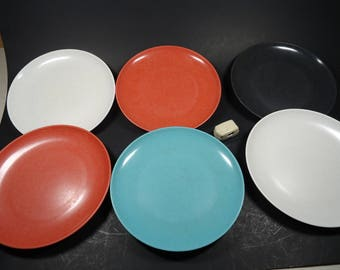 Branchell Melmac  set of 6 deserts plates
