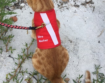 Dive Flag Dog or Cat Harness