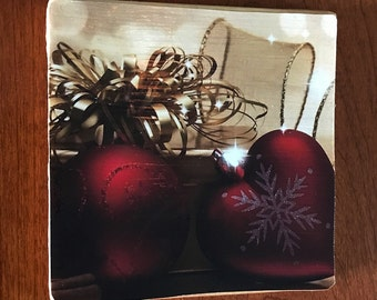 Christmas Handmade Decorative Coaster!!