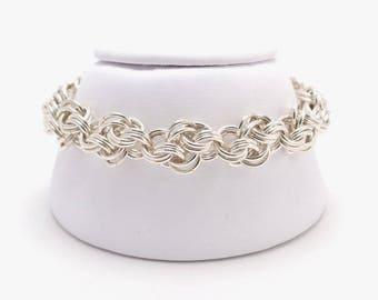 Cloud Cover Bracelet in Sterling Silver