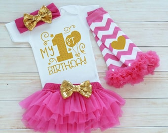 Baby Girl Birthday, First Birthday Outfit Girl, Cake Smash, One Birthday Outfit, 1st Birthday Girl, Princess Birthday Outfit, Birthday Gift
