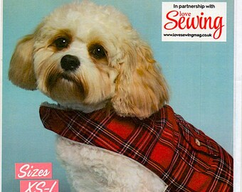 Butterick Adorable Dog Coat – Sizes XS-L