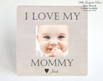 Mom Mother Gift Picture Frame Personalized Gift to New Mother Mom To Be Expecting Pregnancy Baby Shower Gift Ideas Custom Photo Frame Gifts