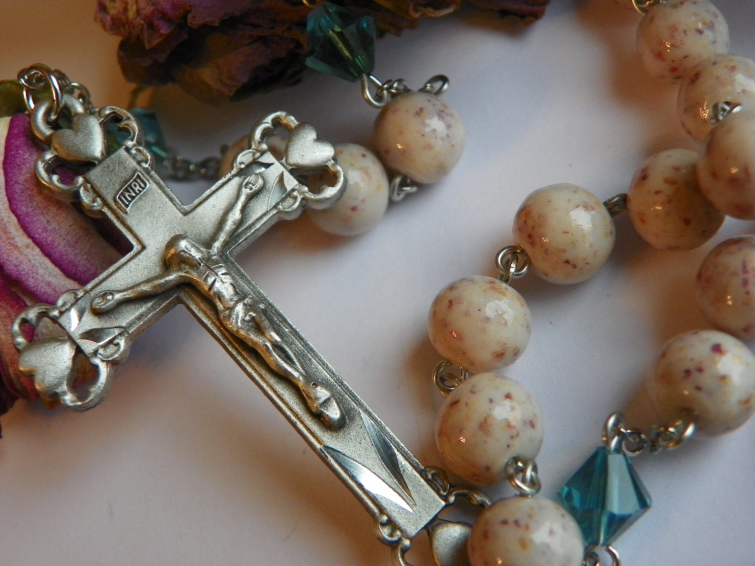 Rosary beads made from funeral flowers image collections flower rosary made from funeral flowers images flower wallpaper hd rosary made from funeral flowers gallery flower izmirmasajfo