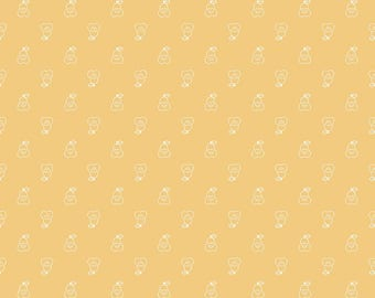 Bee Basics Pear Honey Yardage - C6406-HONEY by Lori Holt of A Bee in My Bonnet for Riley Blake Designs