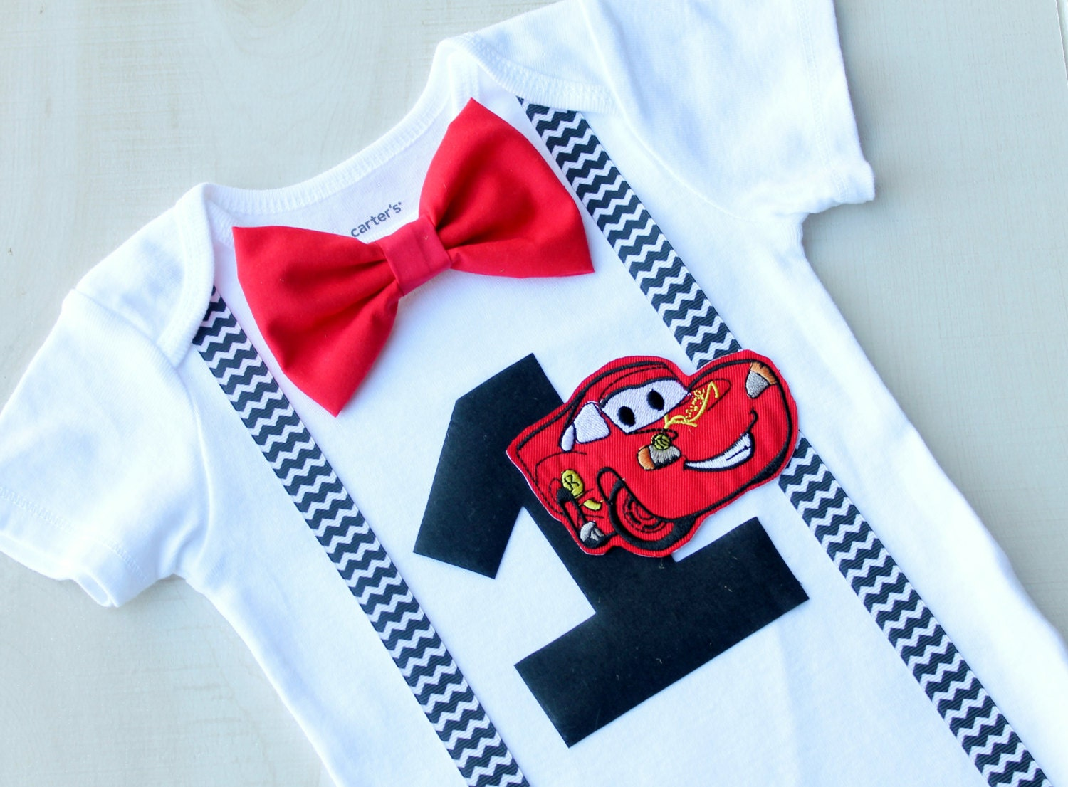 Cars Birthday Outfit Cake Smash Outfit First Birthday Outfit
