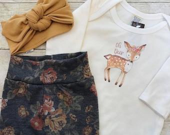Deer Fawn bodysuit