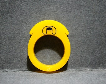 Adventure Time Jake ring
