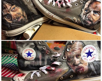 The Walking Dead Custom Converse All Star shoes