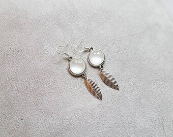 chic earrings White Pearl