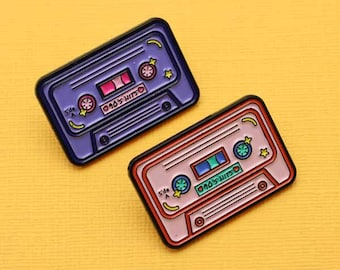90's Mix Tape Soft Enamel Pin  // Rad Collection, 90's Vibes