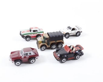 Micro Machines, Hasbro, Little Cars, Toy, Plastic, Racing Car, Army Truck, Children, Collection, Vintage, Nostalgia, ~ 170617