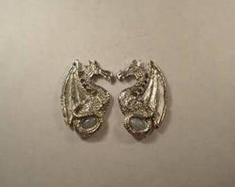 New ..Dragon Earrings #3