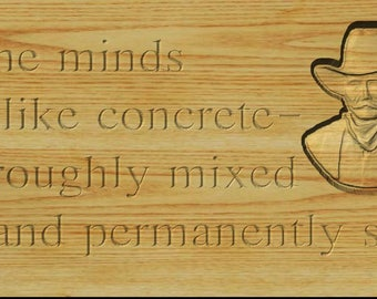 Concrete Minds