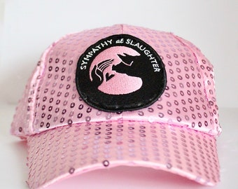 Pink Sequin Sympathy cap