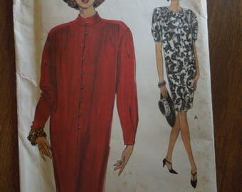 Vogue 8439, sizes 14-18, misses, petite, dress, UNCUT sewing pattern, craft supplies,