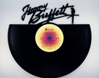 JIMMY BUFFETT Vinyl Record Wall Art