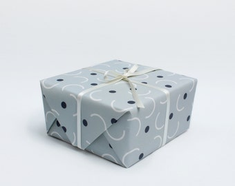 Catch Wrapping Paper - Grey