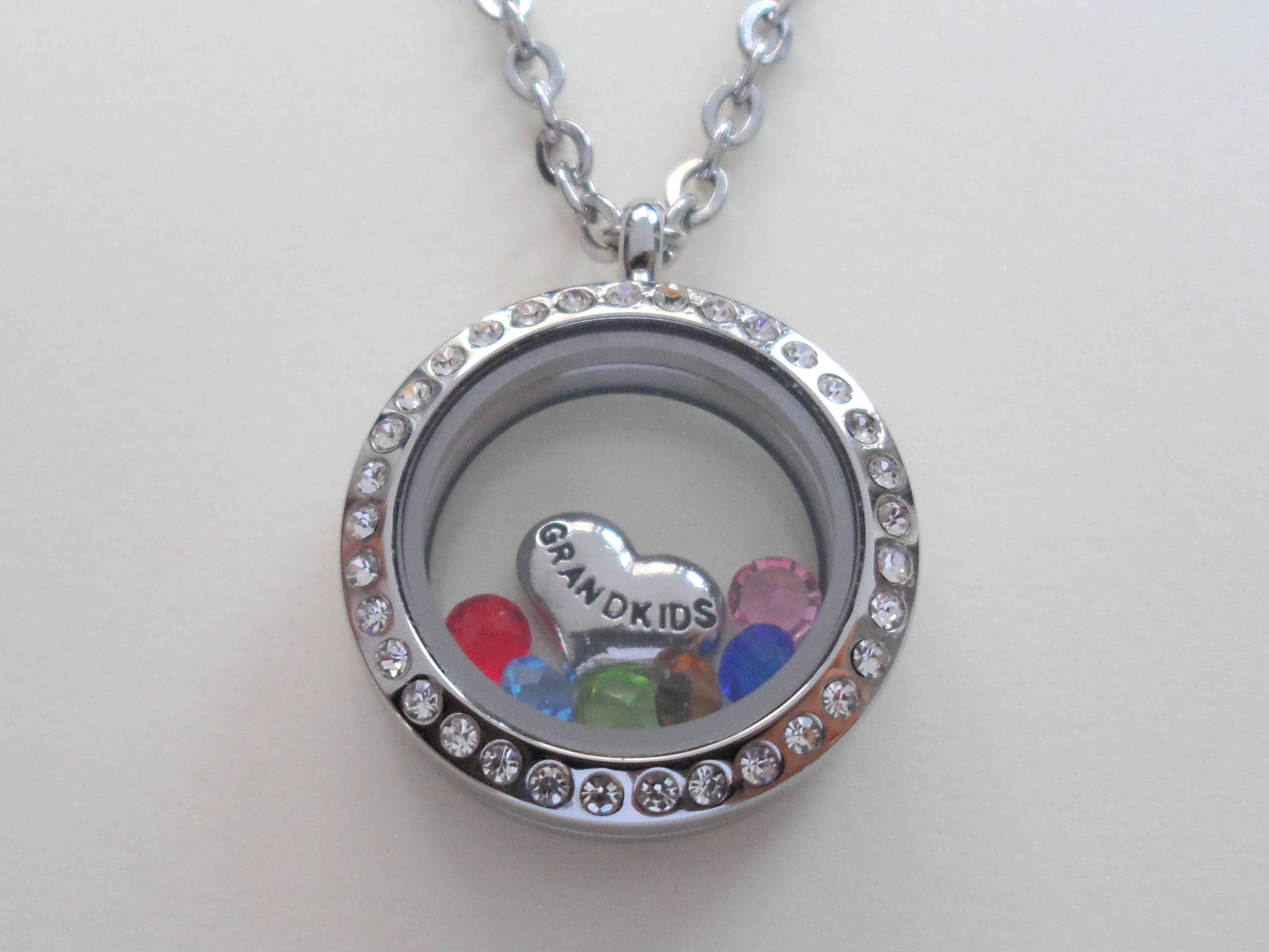 were d grandma grandmas heart you flowers if necklace id s personalised silver flower lockets i pick sterling