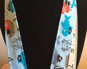 A Pirates Life For Sea Lanyard