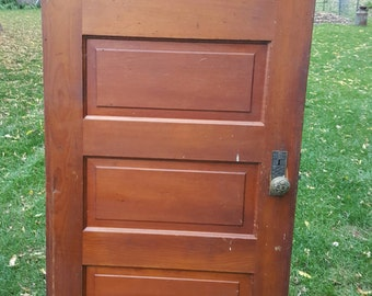 Nice Old Wood Door, Antique, Interior Door, Building Supply, Architectural  Salvage, Farmhouse