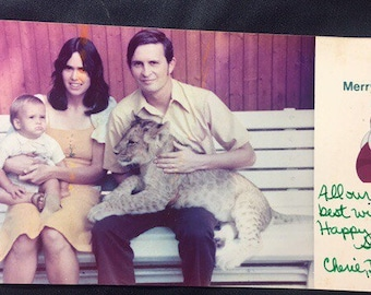 1970s Liger Christmas Card