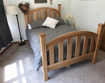 Full Rustic Country Style Bed