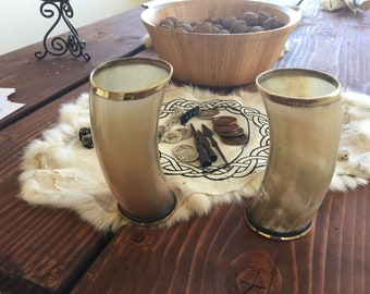 Viking Drinking Horn Cup