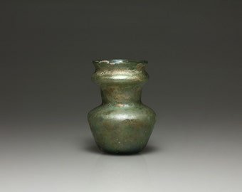 Ancient Roman Glass Bottle