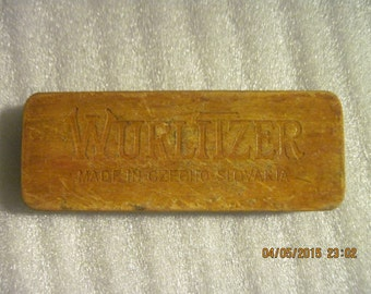 Vintage Wurlitzer Harmonica  made in Czechoslovakia